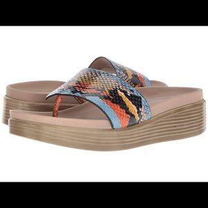 NWT Donald J Pliner Fifi 19 Platform Sandals Snake